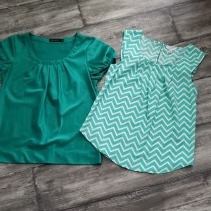 2 Blouses The Limited and Candies size S